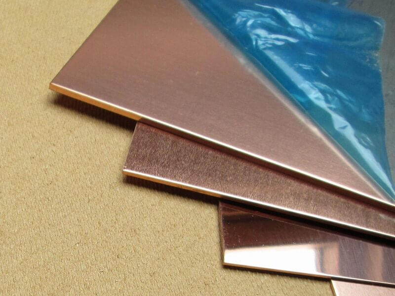 Copper Sheets Plates and Coils