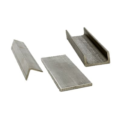 Stainless Steel 316 Cold Rolled Flats, Angle, Channel
