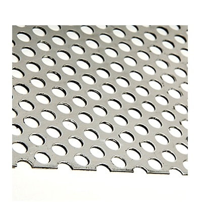 Stainless Steel 316 Cold Rolled Perforated Sheet