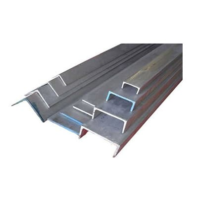 Stainless Steel 316 Hot Rolled Flats, Angle, Channel