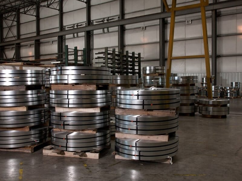 Stainless Steel 321-321H Slitting Coils