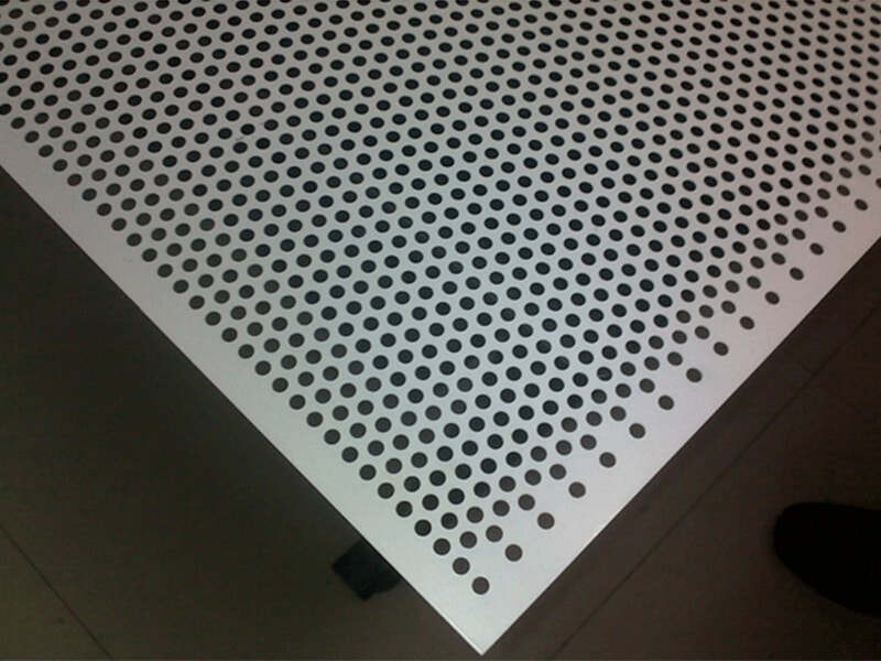 Super Duplex Steel S32750 / S32760 Perforated Sheets
